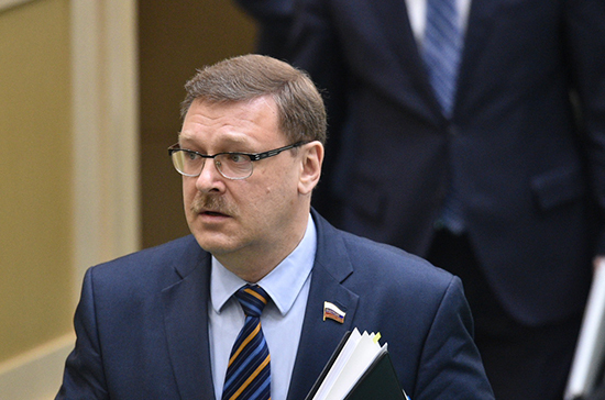Французские сенаторы осенью посетят Россию с ответным визитом, сообщил Косачев