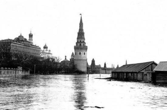 110 лет назад в Москве произошло самое крупное наводнение