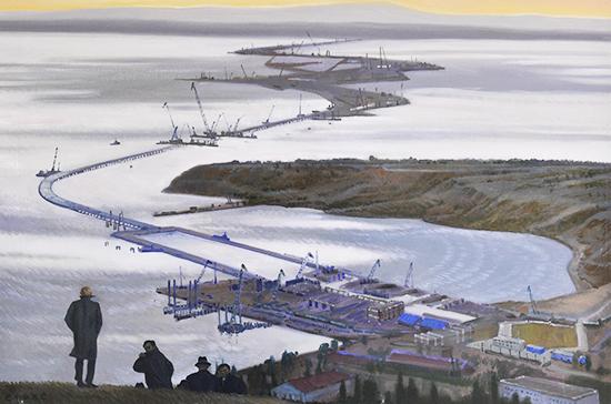 В Совете Федерации открылась выставка «Крым. Город-герой Севастополь»