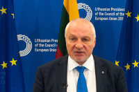 Кандидат в президенты Литвы пообещал строить национальное государство