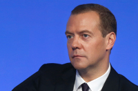 Россия оставляет право ответа на санкции США, заявил Медведев