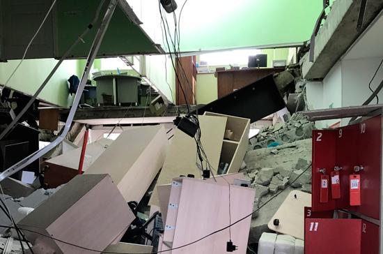 Очевидец рассказал подробности частичного обрушения трехэтажного дома в Кургане