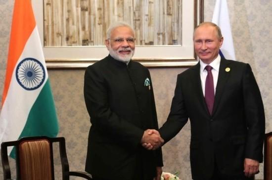 Путин обсудил с премьером Индии стратегическое партнёрство