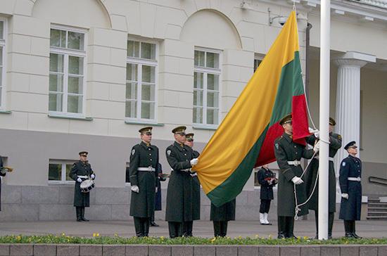 Литовскую партию «Порядок и справедливость» лишили госдотации