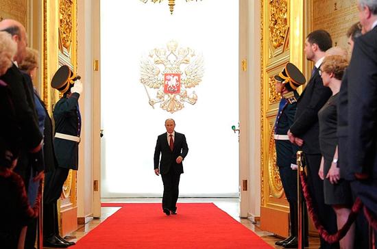 Инаугурация Президента России Владимира Путина пройдёт 7 мая