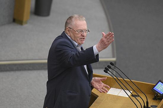 Жириновский призвал снизить НДС