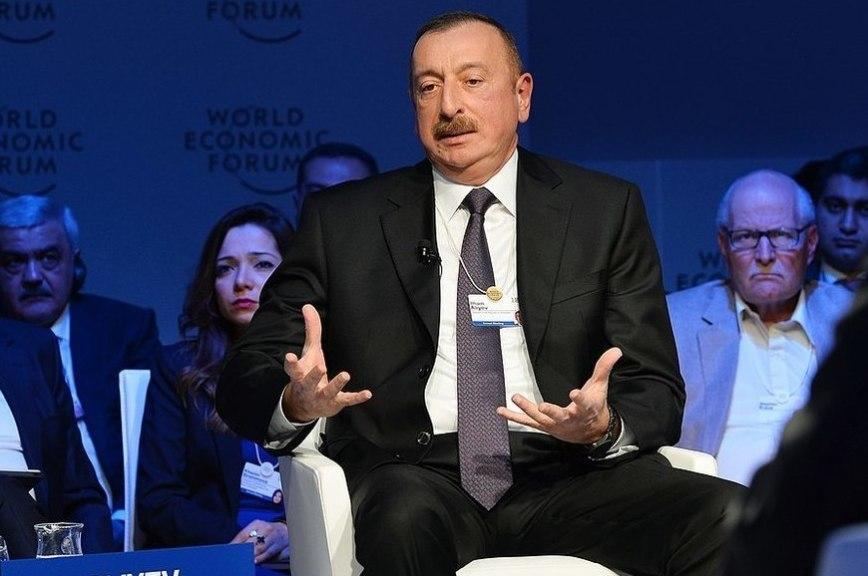 В Азербайджане празднуют победу Алиева на президентских выборах