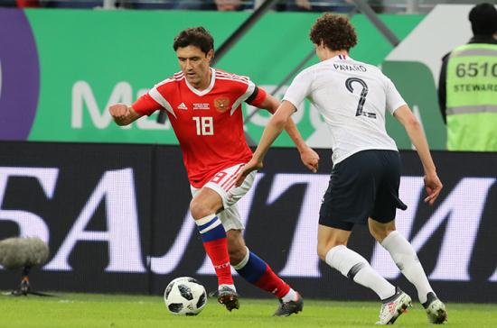 Сборная России по футболу опустилась на 66-е место в рейтинге FIFA