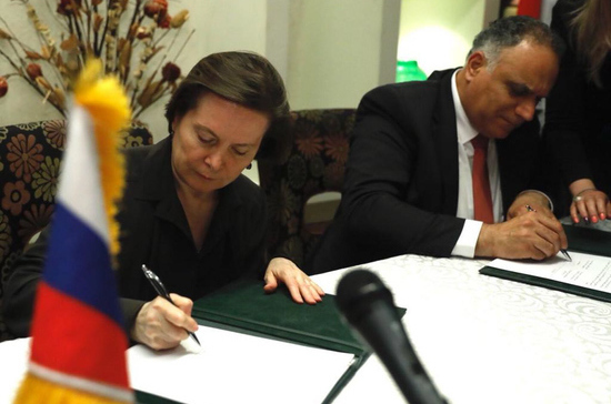 Югра подписала соглашение о сотрудничестве с сирийской провинцией Хомс