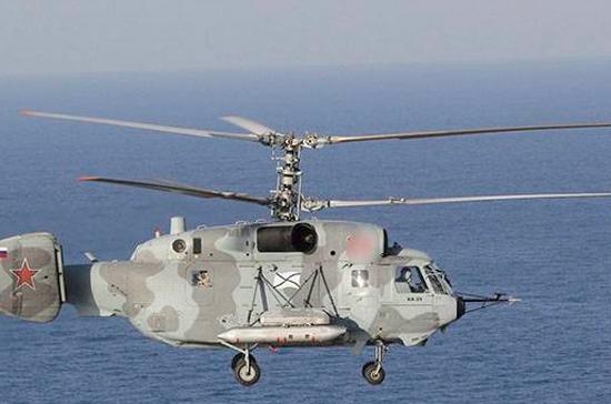 Следком возбудил уголовное дело по факту крушения вертолёта Ка-29 в Балтийском море