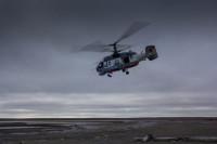 Вертолет Ка-29 упал в Балтийское море во время ночных испытательных полетов