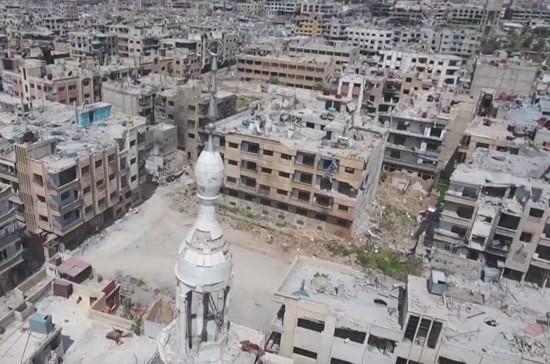В Сирии нашли лабораторию боевиков по производству химвеществ