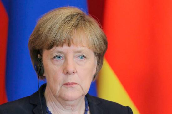 Меркель считает, что удар по Сирии был необходимым