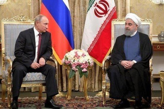 Путин и Рухани обсудили ситуацию в Сирии