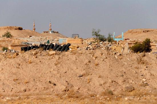 Сирийская армия борется стеррористами вгороде Дума