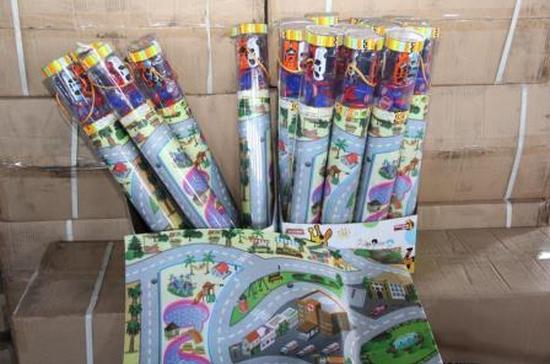 Фирма из Новосибирска заплатит более 300 тыс. руб. штрафа за незаконный ввоз детских ковриков из Китая