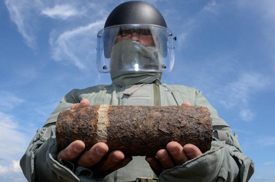 Под Севастополем сапёры обнаружили около 700 боеприпасов времён Великой Отечественной войны