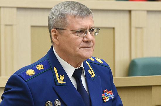 Юрий Чайка расскажет сенаторам о законности и правопорядке в России