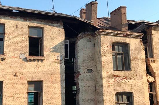 Жильцы эвакуированных зданий в Пушкаревом переулке смогут вернуться домой к выходным