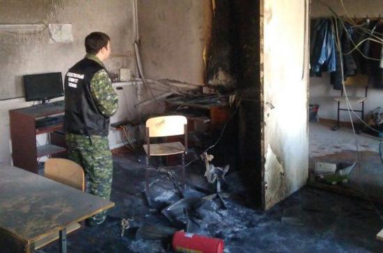СКР продолжает осмотр места происшествия в школе г.Стерлитамака