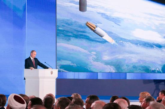 Американский генерал остался под впечатлением от гиперзвукового оружия России