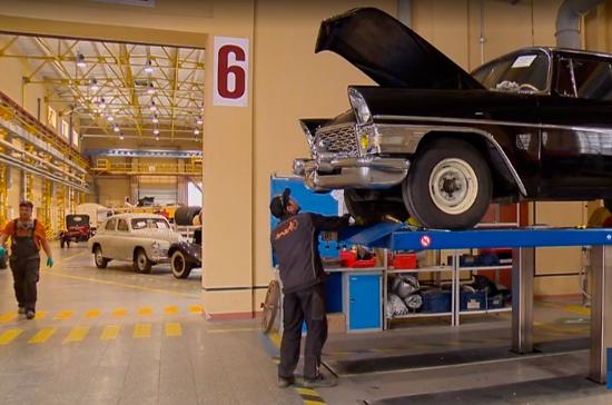 В Свердловской области открылся реставрационный цех для ретроавтомобилей