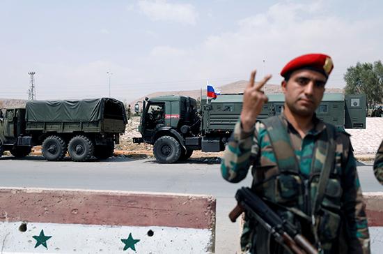 Очередной конвой эвакуирует боевиков из Дамаска, сообщают СМИ