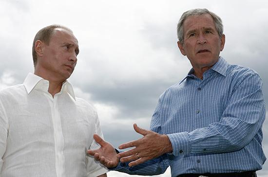 СМИ: Буш-младший назвал Путина умным тактиком