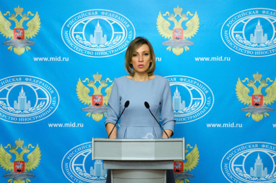 Захарова назвала подделкой снимки из Думы с якобы пострадавшими от химоружия
