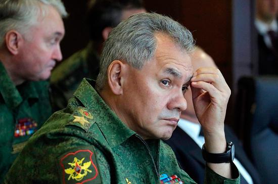 США и союзники нанесли удар по Сирии в «самый неподходящий момент», сказал Шойгу
