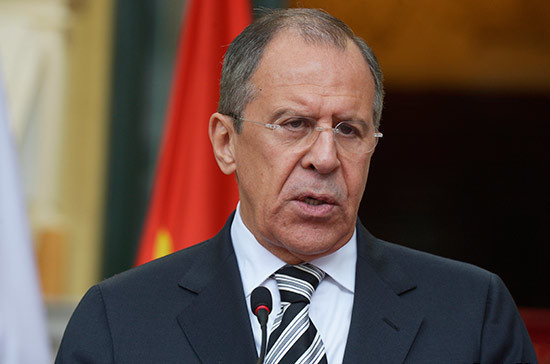 Лавров: Россия не будет обсуждать никаких условий снятия санкций