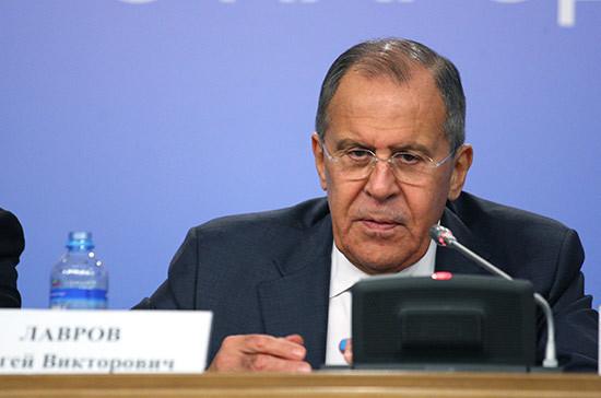 Лавров назвал цель удара США по Сирии