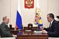 Путин положительно оценил опыт Ингушетии по переходу на газомоторное топливо