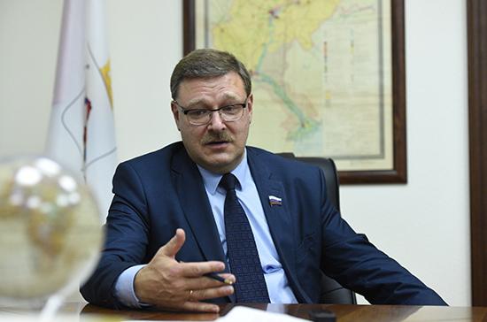 Косачев прокомментировал заявление G7 о возможном ужесточении санкций в отношении РФ
