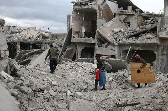 Неменее 900 человек вернулись всвои дома вСирии за минувшие сутки