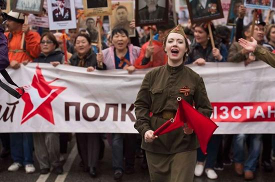 Столица Киргизии готовится к маршу «Бессмертного полка»
