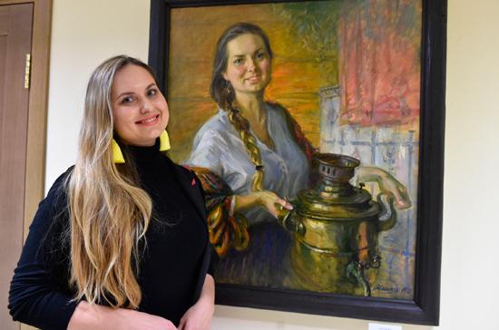 В Совфеде открылась выставка картин Игоря Машкова