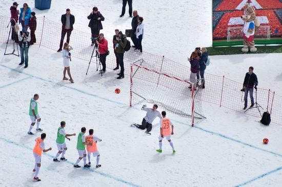Футбольный матч в горах Сочи занесён в Книгу рекордов России как самый высокогорный