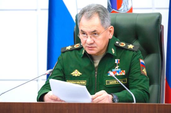 Шойгу поблагодарил российских журналистов за вклад в формирование престижа армии