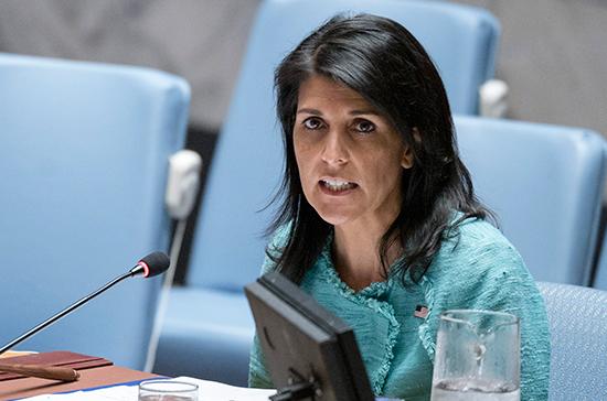 США обиделись на членов ООН