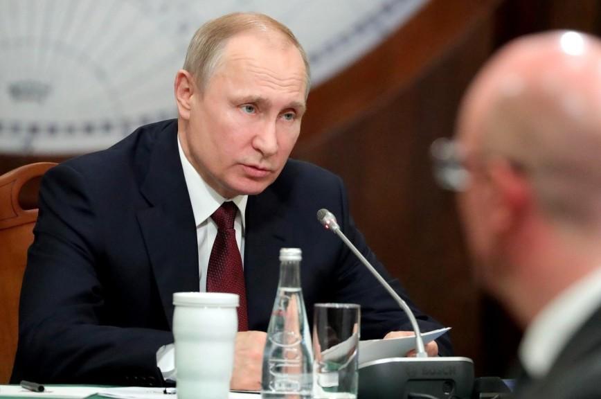 Путину доложили об увеличении территории России
