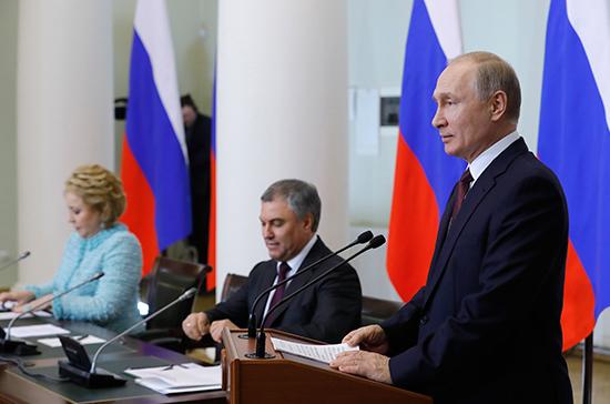 Владимир Путин пообещал закон, который удешевит мобильную связь