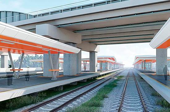 Станцию «Карачарово» построят в стиле хай-тек