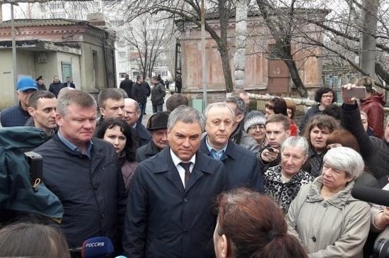 Володин: строительство дома в Саратове за счёт спонсоров обойдётся в 300 млн рублей