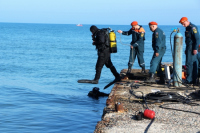 В Крыму обезвредили якорную немецкую мину времен ВОВ весом более 600 кг