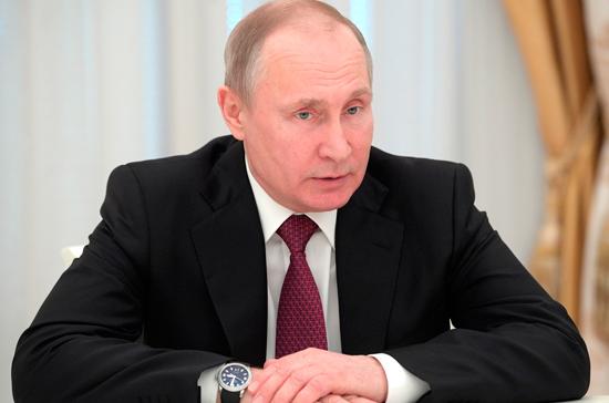 Путин поздравил пожарных с профессиональным праздником