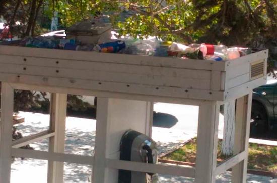 Севастопольцы пожаловались на проблемы с вывозом мусора