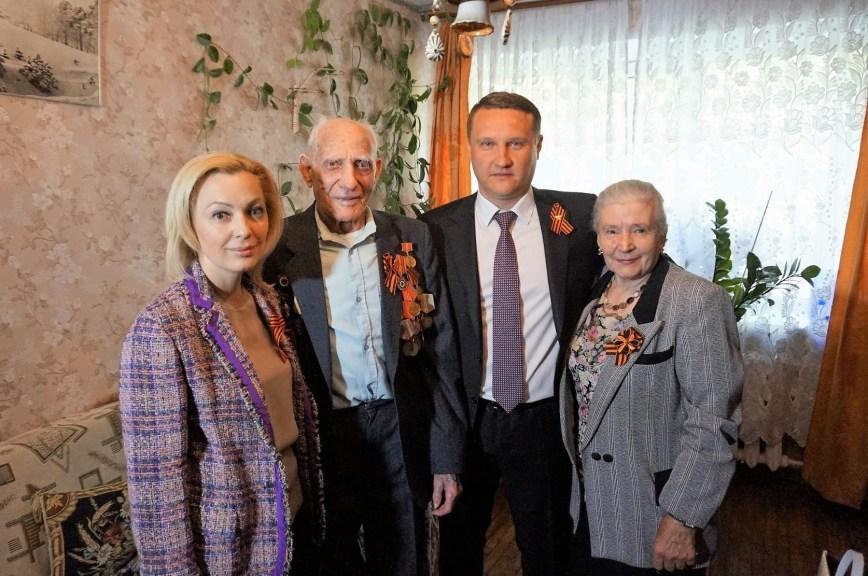 Тимофеева поздравила с наступающим Днём Победы ветеранов ВОВ в Ставропольском крае