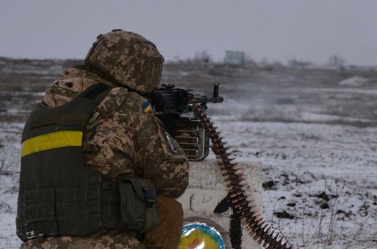 Украинские военные обстреляли беспилотник ОБСЕ