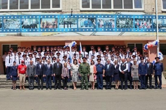 Тимофеева отметила преимущества патриотического воспитания в кадетских классах